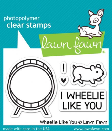 LF0838 S ~ WHEELIE LIKE YOU ~ CLEAR STAMPS BY LAWN FAWN